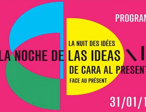 LA NOCHE DE LAS IDEAS EN CASA CARRIÓN