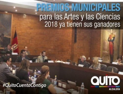 RESULTADOS PREMIOS MUNICIPALES 2018