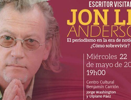 JON LEE ANDERSON: ESCRITOR VISITANTE