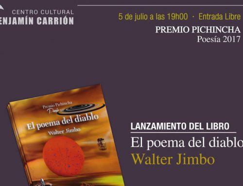 """""""EL POEMA DEL DIABLO"""", DE WALTER JIMBO"""