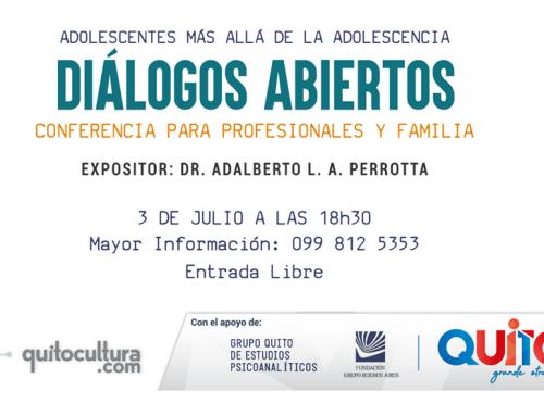 """DIÁLOGO ABIERTO """"ADOLESCENTES MÁS ALLÁ DE LA ADOLESCENCIA"""""""