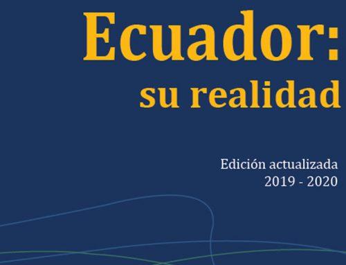 PRESENTACIÓN DEL LIBRO  ECUADOR: SU REALIDAD 2019-2020
