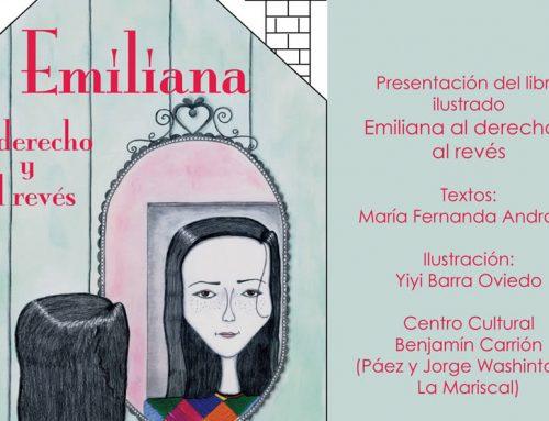 """PRESENTACIÓN DEL LIBRO ILUSTRADO """"EMILIANA AL DERECHO Y AL REVÉS"""""""
